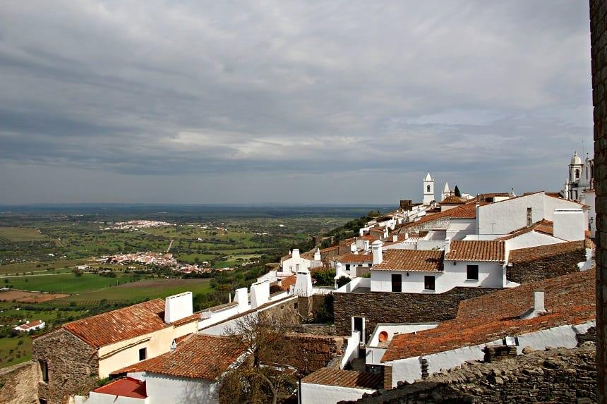 Het witte vestingstadje Monsaraz