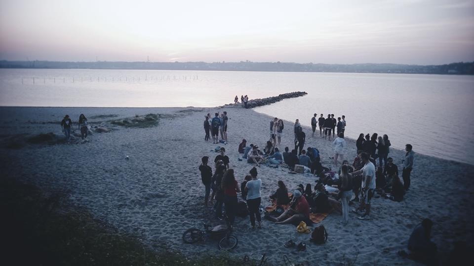 Beachparty in Kolding