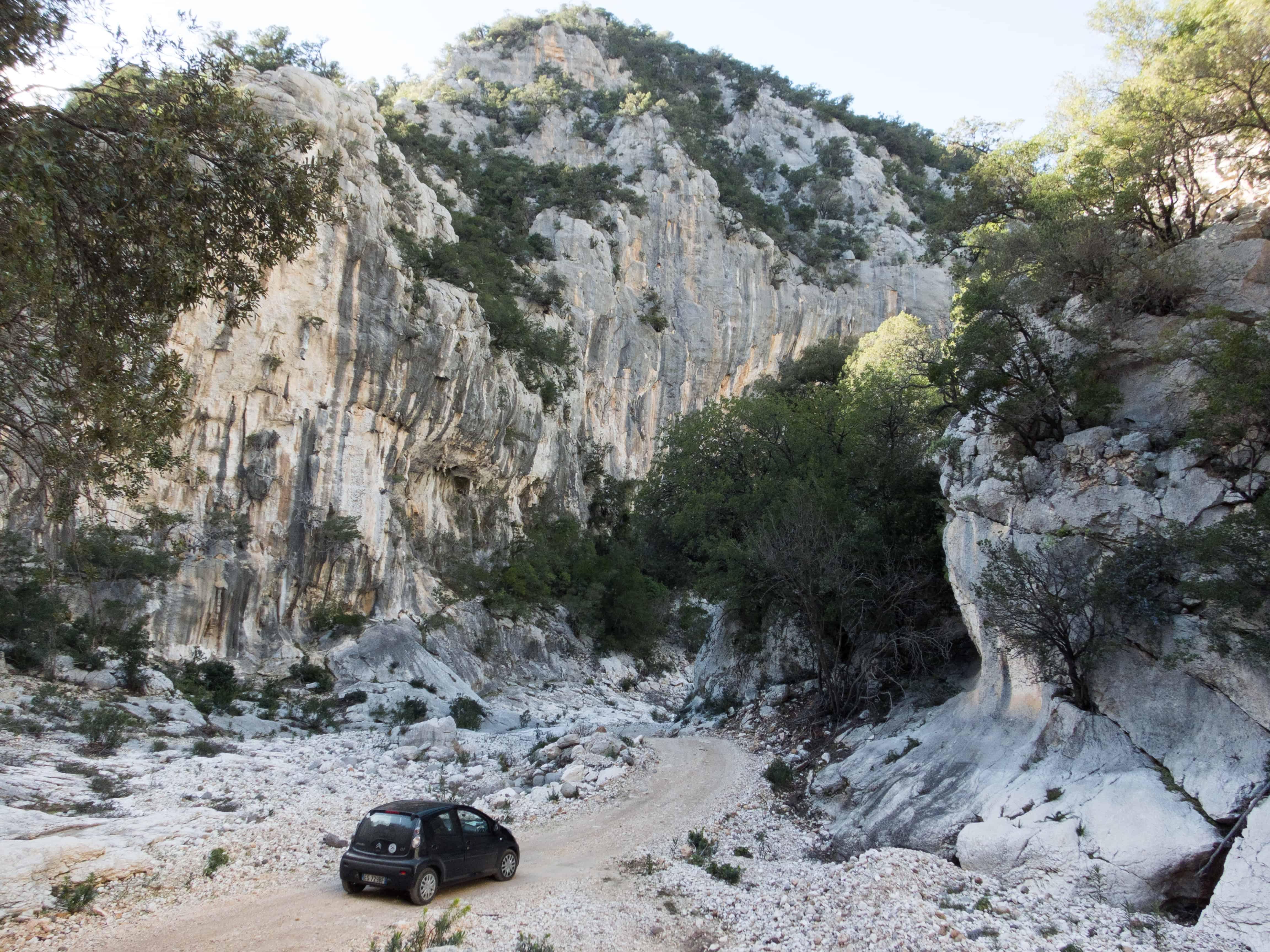 roadtrippen op Sardinië