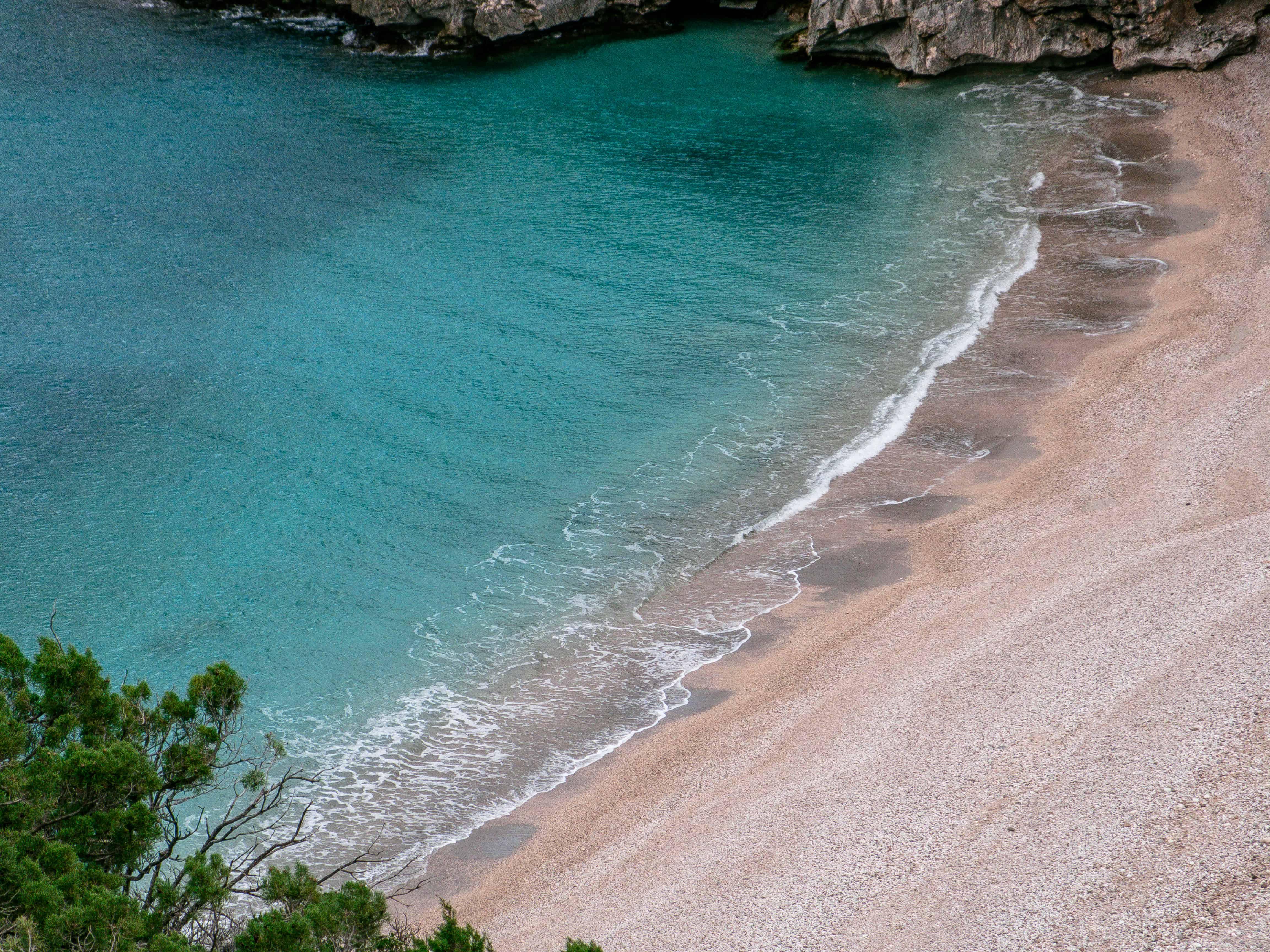 uitzicht op Cala Sisine