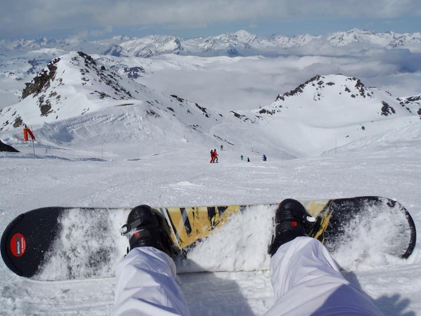 Wintersporten in Les Menuires