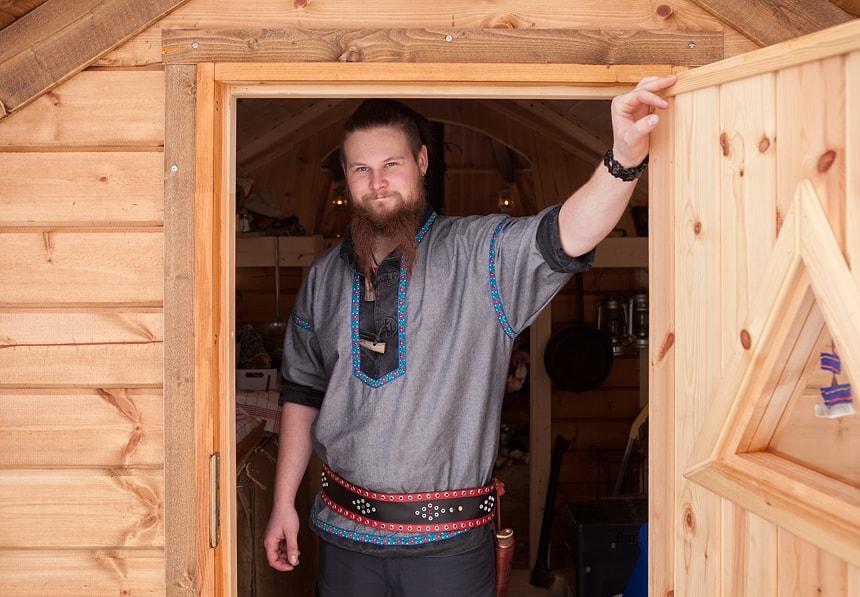 Santeri, Nuorgam Holiday Village, Lapland, Finland