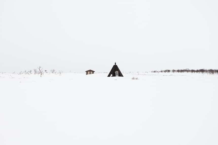 Toendra Nuorgam, Lapland, Finland