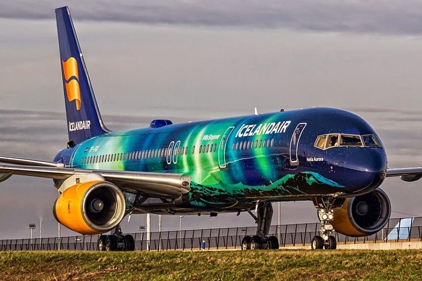 Iceland Air heeft tegenwoordig Economy Comfort én een Noorderlicht toestel.