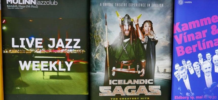 Het mistige IJsland is bron van vele sagen die nog steeds levend worden gehouden.
