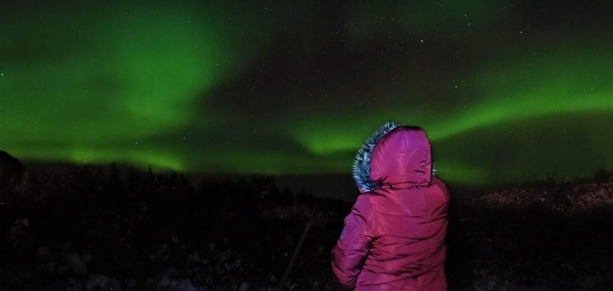 De dag ná mijn vertrek was het Noorderlicht er wel. Foto: Reykjavik Excursions.