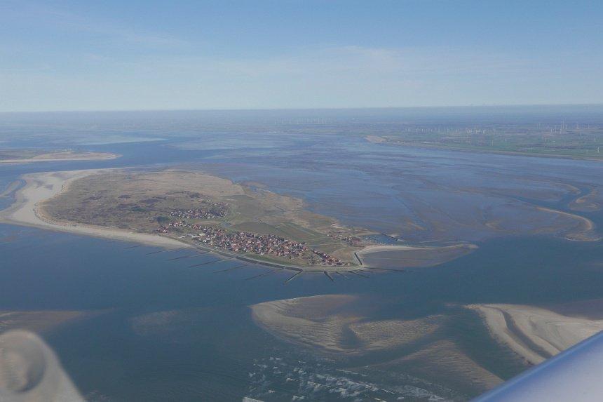 ... zoals van het eiland Baltrum.
