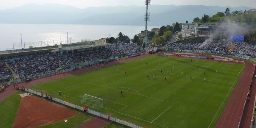 Voetbalstadion Kantrida in Rijeka
