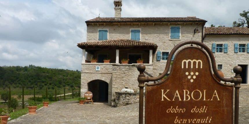 Wijnmaker Kabola in Kroatië