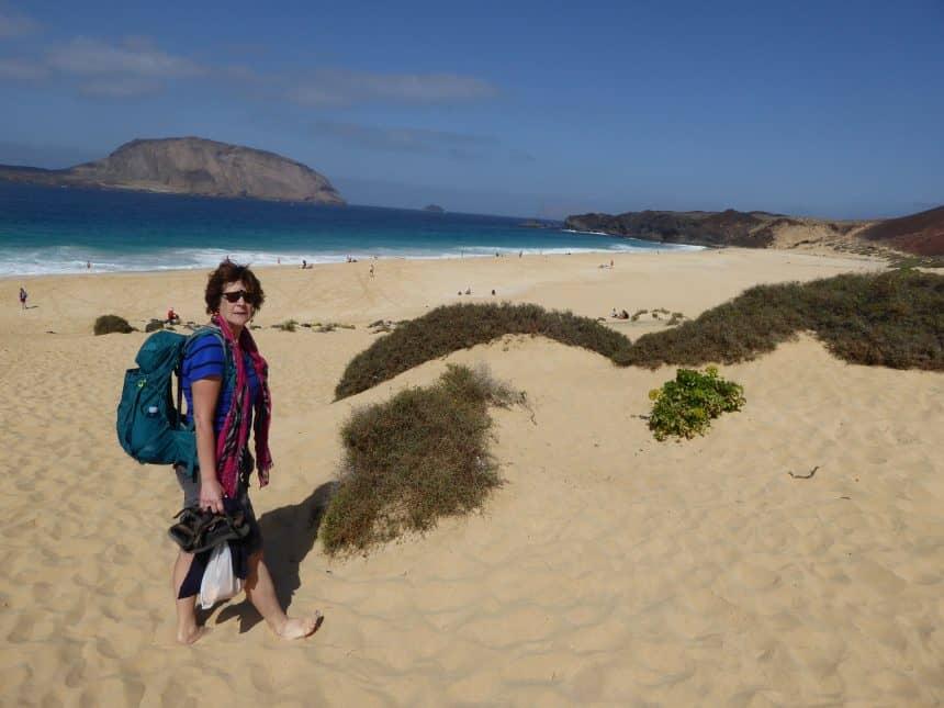 Playa de los Conchas