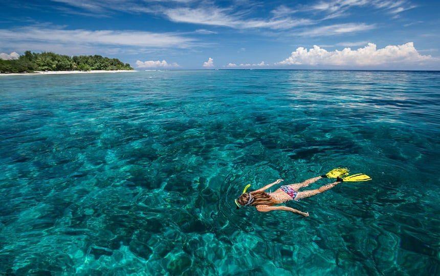 Snorkelen bij de Gili eilanden
