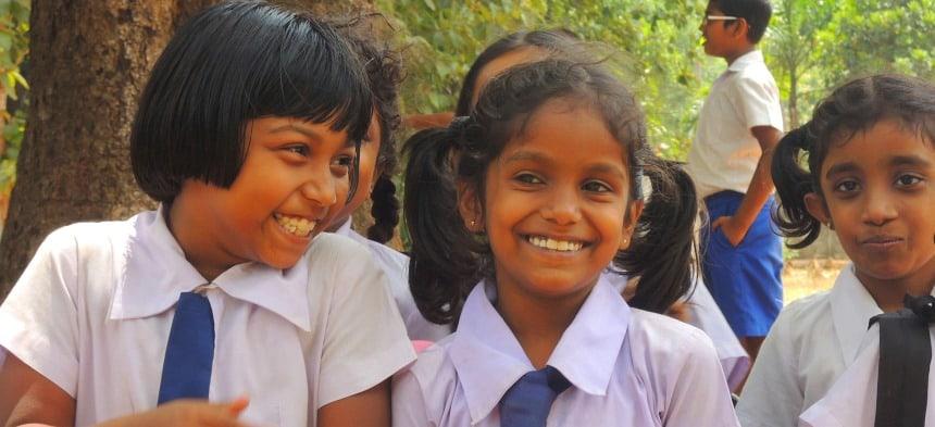Onderwijs voor iedereen. Heel normaal in Sri Lanka.