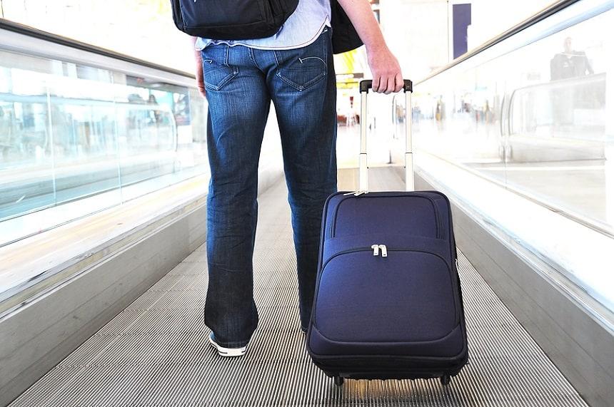 Test van handbagage koffers