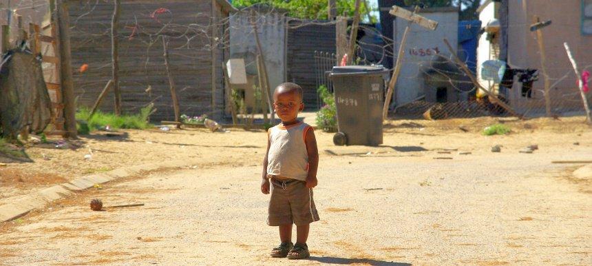Rijk of arm. Je kunt er zelf niet veel aan veranderen in Zuid-Afrika.