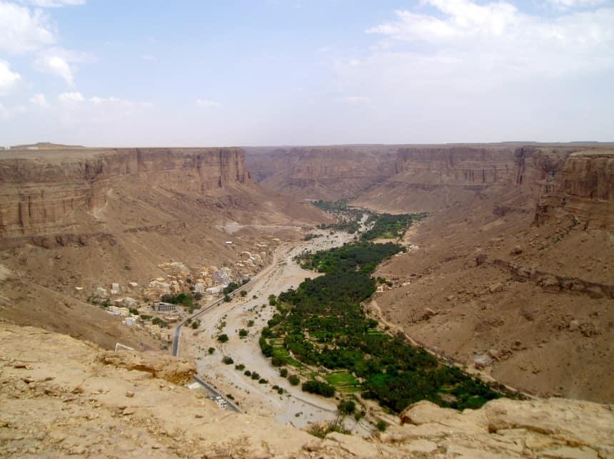 asfaltweg wadi