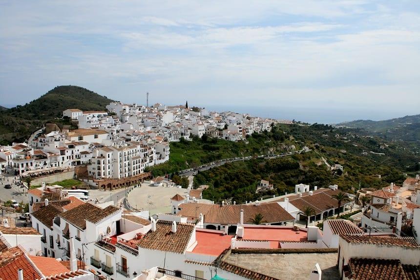 bergdorp Frigiliana aan de Spaanse Costa
