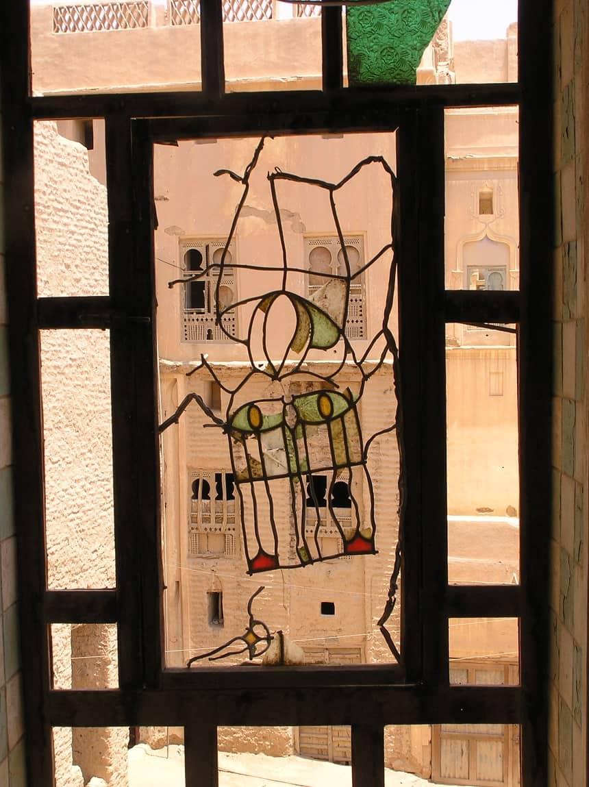 Resten glas in lood, Wadi Hadramaut