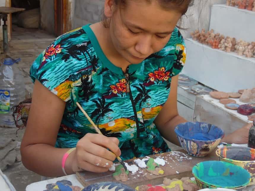 handwerk oezbekistan