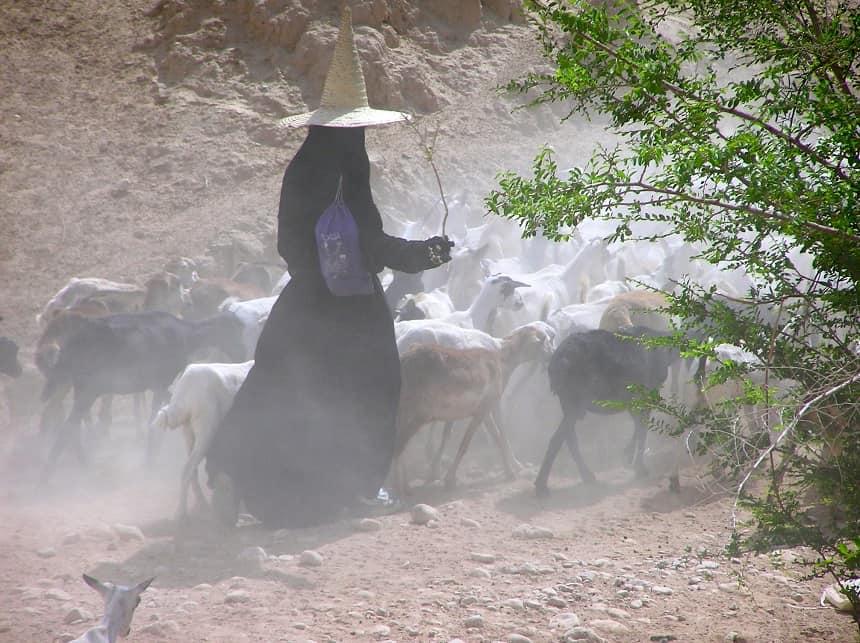 Herderin Wadi Hadramaut
