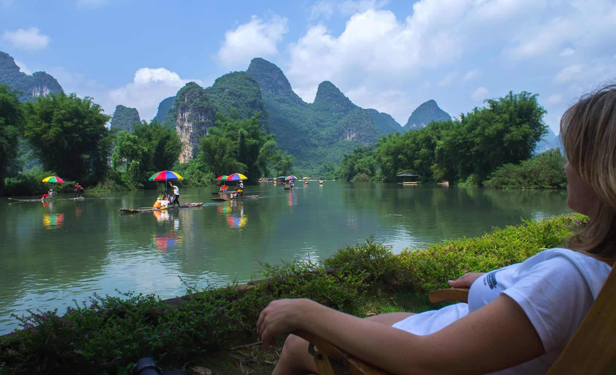 reis door China