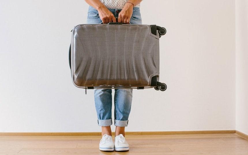 koffers voor op reis