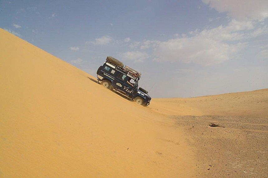 4WD woestijn jemen