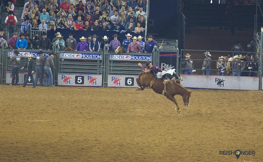 Vooroordelen van Texas is Bareback riding Texas