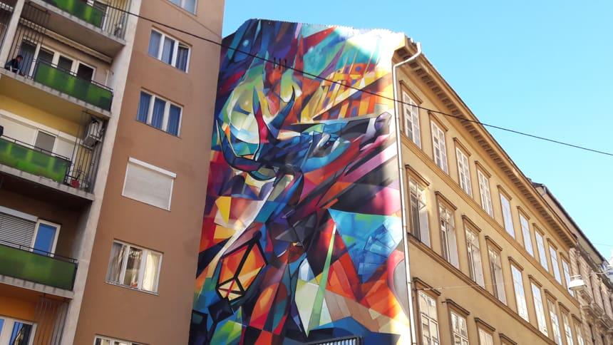 Streetart Boedapest