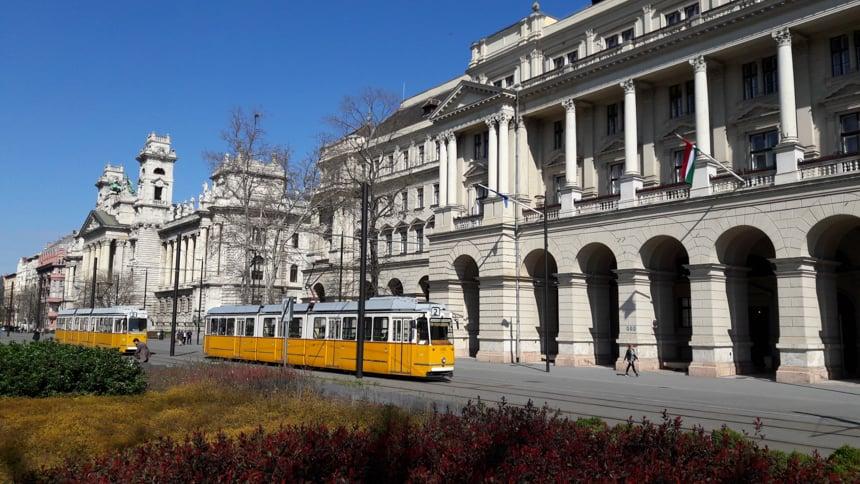 Trams Boedapest