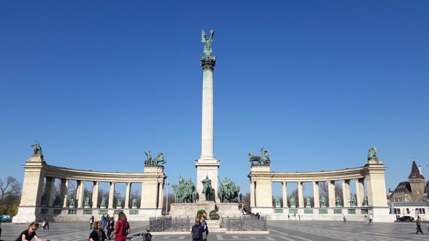 Heldenplein Boedapest