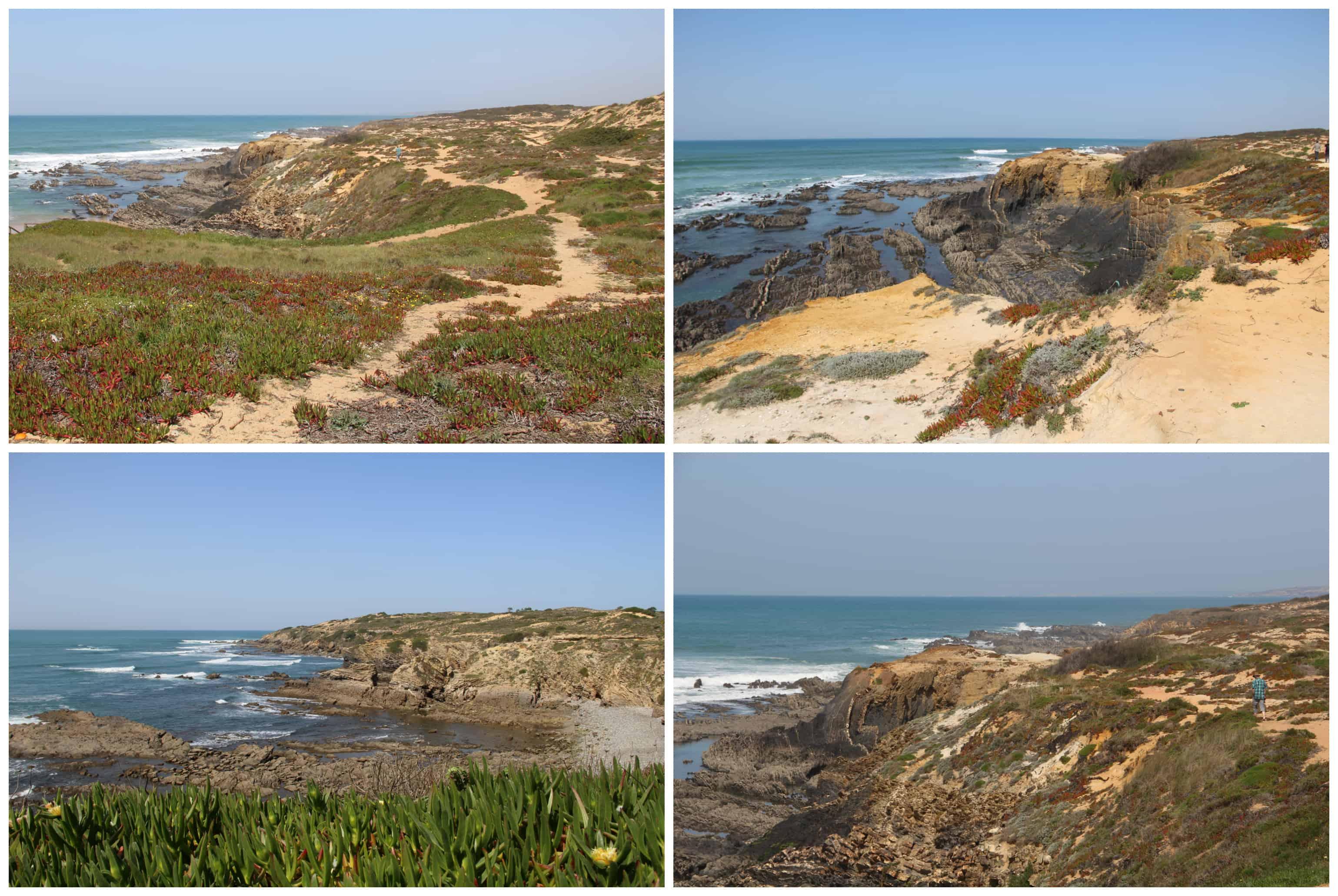 De Alentejo in Portugal heeft een uitgebreid wandelnetwerk (de Rota Vicentina). Het mooiste deel daarvan is de Fisherman's Trail langs de kust