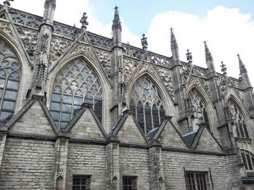De Grote Kerk (of Onze Lieve Vrouwe Kerk) in Breda