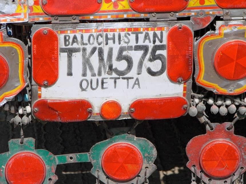 Balochistan een provincie van Pakistan