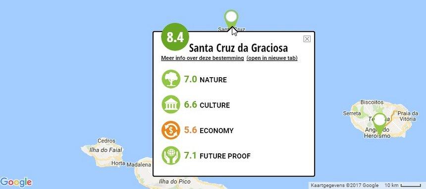 Green Destinations heeft een uitgebreide database met Duurzame bestemmingen wereldwijd.