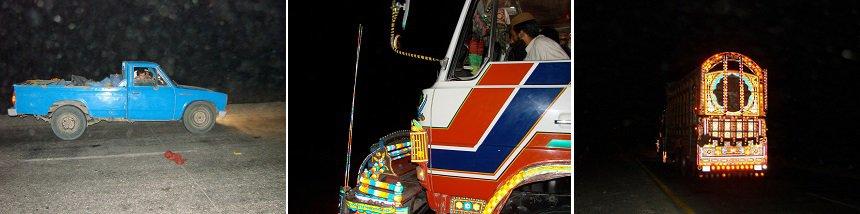 nachtelijk transport pakistan