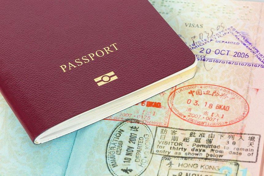 Het paspoort van een wereldreiziger