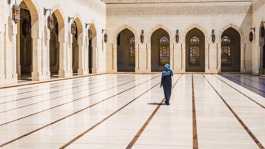 Binnenplaats grote Moskee