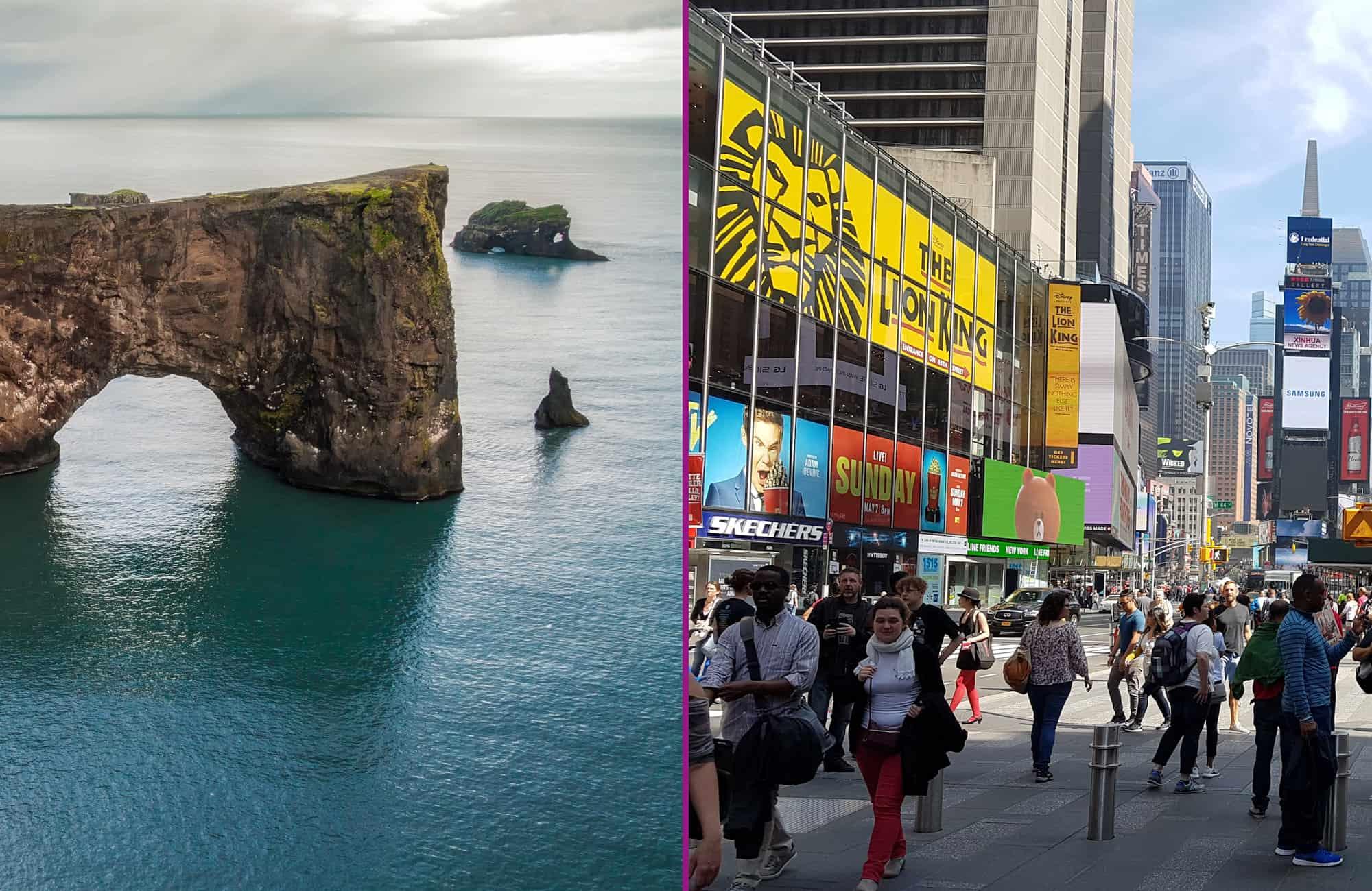 IJsland en New York stopover
