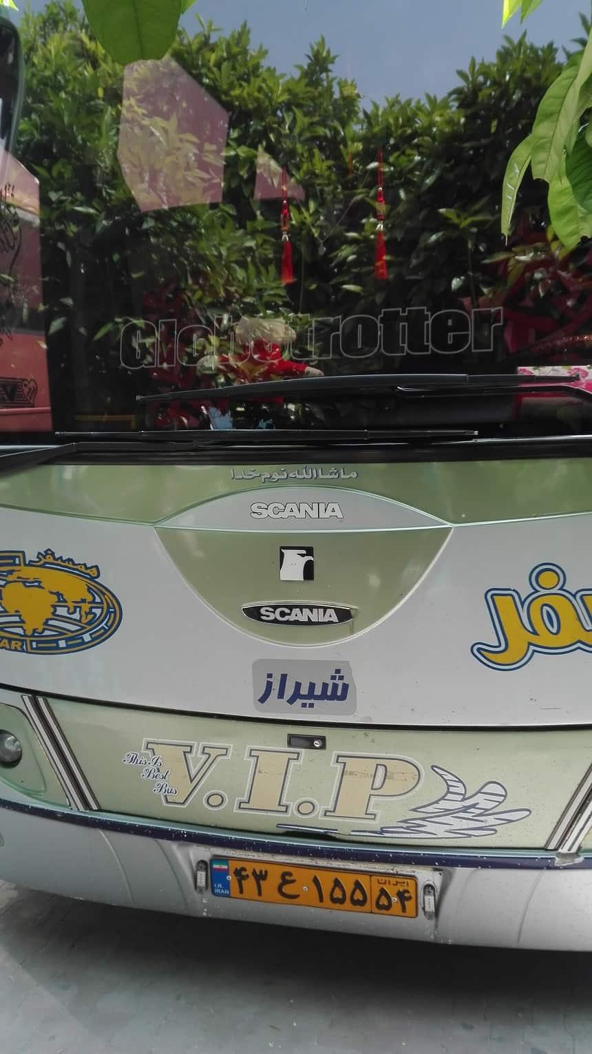 Iran VIP bus