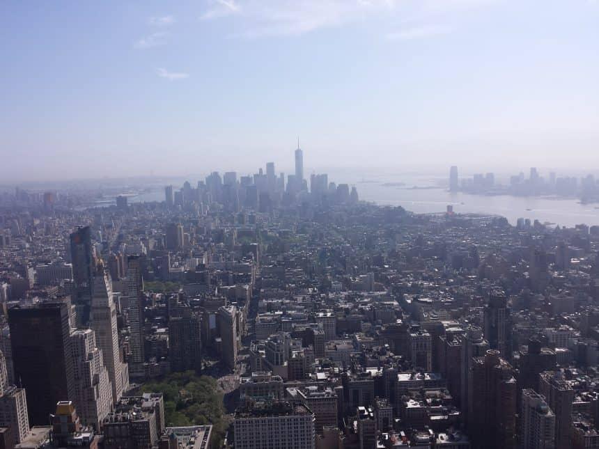 Uitzicht vanuit het Empire State Building