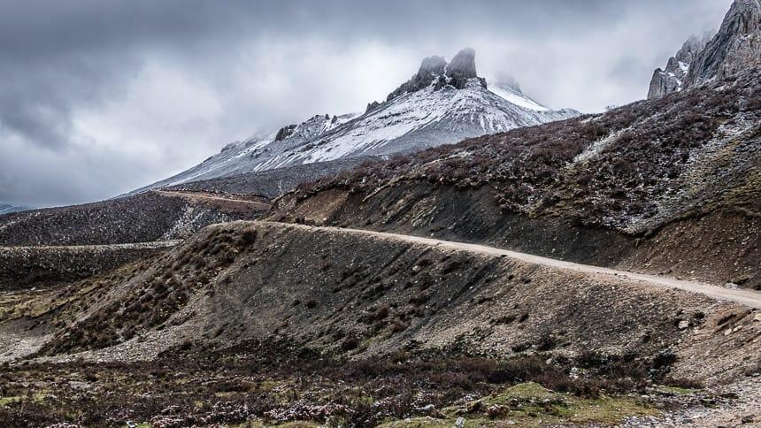 Ruige bergwegen