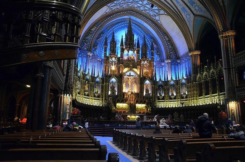 Notre-Dame Basilica in Montréal