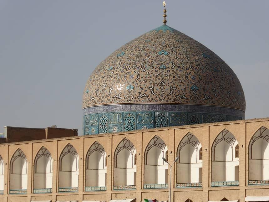 Moskee in Esfahan, Iran