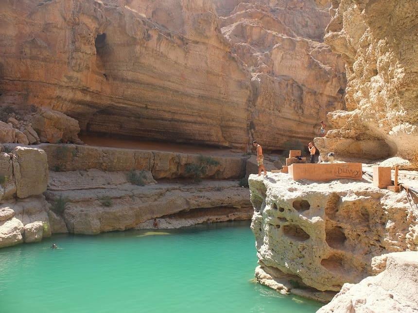 Wadi Tawi in Oman