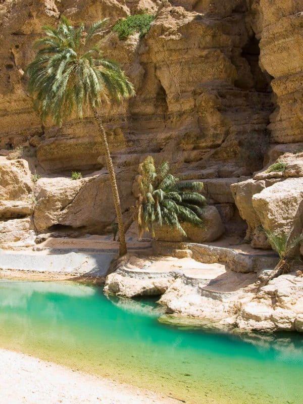 Wadi's in Oman
