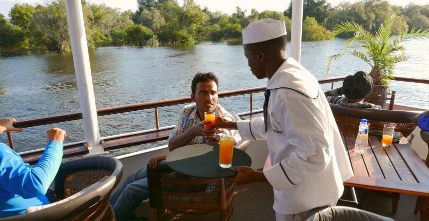 River cruise op de Zambezi. Genieten in stijl.