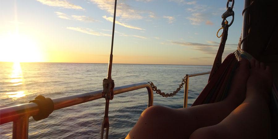 Couchsurfen op een boot in Australië
