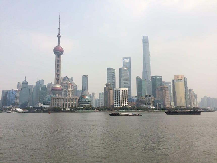 the bund shanghai is een must tijdens een rondreis door China