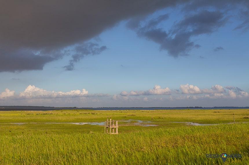 Het Lauwersmeer is een nationaal park