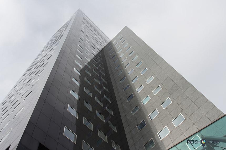 De Achmea toren in Leeuwarden